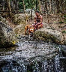 Sundays in the park. (goldensummer1200) Tags: chillin pancakelens 35mm waterfalls parkslope prospectpark nyc