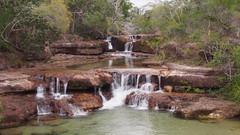 Twin Falls (bulldustandbackroads) Tags: capeyork oldtelegraphtrack queensland australia waterfalls waterfall