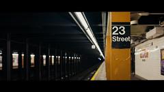 ∅ (Panda1339) Tags: 23rdstreet 28mm leicaq summiluxq metro nyc streetphotography architecture subwaystation usa underground newyork