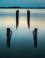 Lake Waco at sunset (shawnhutcherson) Tags: nikon d610 waco texas lake longexposure