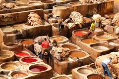 BI4A8135 (wolfgang.r.weber) Tags: marokko fes gerberei tannery