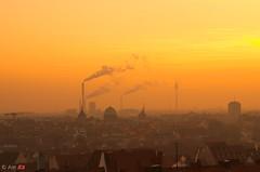 sunsetOverNuernberg_ (ant 52) Tags: nikon d5100 nuernberg nürnberg sunset light city sky