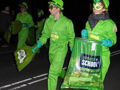 Bloemencorso Haarlem 2017 (Alta alatis patent) Tags: haarlem bloemencorso supporter green schoon cleaners incognito