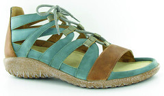 "Naot Selo sandal sea green brown • <a style=""font-size:0.8em;"" href=""http://www.flickr.com/photos/65413117@N03/34124241105/"" target=""_blank"">View on Flickr</a>"