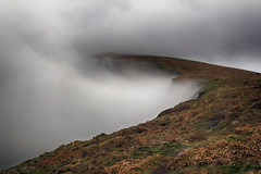 Curve through the cloud (OutdoorMonkey) Tags: berwyns cadairberwyn wales mountain hill hilltop peak summit ridge mountainside cloud mist landscape outside outdoor countryside rural nature scenic scenery