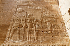 Relief of Rameses III Before Amun Ra (Chris Irie) Tags: ramesesiii amunra thoth egypt temple medinethabu luxor gods