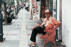 Public service man One Man Only Adult Only Men Adults Only One Person Looking At Camera Portrait Real People Men Smiling Outdoors People Day Sitting Full Length Architecture Musician Young Adult (adrian reza) Tags: onemanonly adult onlymen adultsonly oneperson lookingatcamera portrait realpeople men smiling outdoors people day sitting fulllength architecture musician youngadult