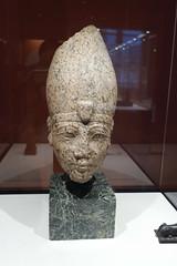 Head of Hatshepsut or Thutmose III (radiowood) Tags: louvre egypt newkingdom tutmose thutmose hatshepsut