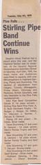 Stirling Pipe Band Pine Falls Newspaper Articles-4 (Hugh Peden) Tags: stirling pipe band pine falls manitoba major william bill macleod