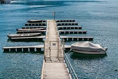 ponton ascona (alain.winterberger) Tags: ponton pontoon pier water eau bateau ascona tessin ticino switzerland suisse schweiz svizerra nikon nikonpassion blue lac lake lago maggiore