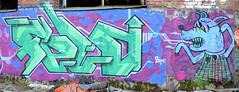 pispala8-23 (Logical Progression) Tags: street old city urban streetart color art abandoned wall suomi finland painting graffiti town artwork paint artist factory fame spray countries graffitti match nordic graff aerosol tampere taide katutaide katu pispala urbanarte kaupunkitaide tikkutehdas finstreetart