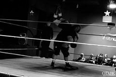 Target Wrestling @ The Venue, Carlisle (Owen Kilpatrick) Tags: uk england blackandwhite monochrome sport nikon wrestling cumbria medallion carlisle nikond3200 wildbill thevenue professionalwrestling targetwrestling thevenuecarlisle