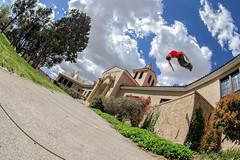 Parkour with Scott Bringe (Mitch Tillison Photography) Tags: photography photo jump pentax outdoor ks wideangle fisheye flip gymnastics parkour extremesport tumbling pentaxda1017 mitchtillison