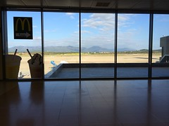 L'escala airport (atomicShed) Tags: airport mcdonalds gerona uploaded:by=flickrmobile flickriosapp:filter=nofilter