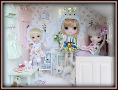The little ones in the Pastel Room♥