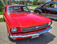1960's Mustang (dok1) Tags: ford mustang fordmustang hdr carshow dok1