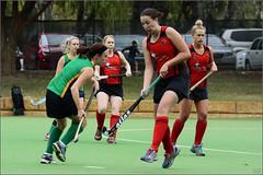 UNI Womens 3 V Reds_ (23) (Chris J. Bartle) Tags: hockey field australia super western uni turf uwa 4514 womens3 willettonreds