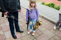 (Peter de Krom) Tags: pet girl gun tiger machine mean timon lidianne