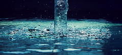 Life (everlastmoments) Tags: life blue sea nature water azul speed amazing agua slow natural drink low gotas vida splash