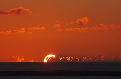 last rays of the sun...