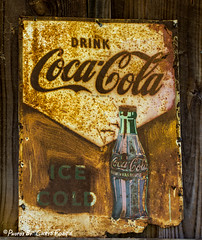 Rusty Coca-Cola Sign (ChrisF_2011) Tags: sign cola rusty coke cocacola