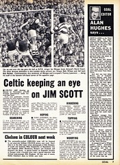 Goal Magazine - 07/09/1968 - Page 7 (The Sky Strikers) Tags: news colour up magazine scott back goal chelsea next want round week celtic luton transfers