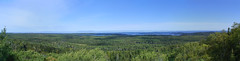 Sleeping Giant (Rudy Malmquist) Tags: park blue camping sleeping summer panorama lake green giant island franklin islands mt hiking cove great lakes superior foliage mount national lane remote isle isolated royale protected