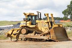 IMG_0069 (RyanP77) Tags: cat site construction dump caterpillar end granite dozer bulldozer digger excavator d10
