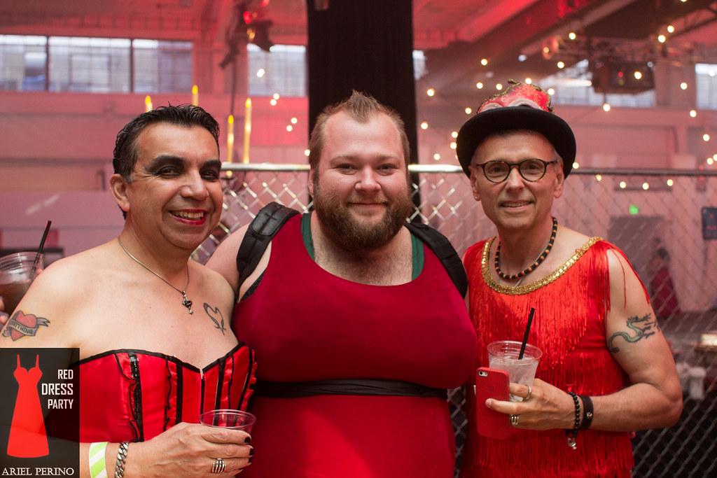 Portland Red Dress