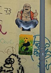 HH-Wheatpaste 1747 (cmdpirx) Tags: street urban color colour pasteup art public wall cutout painting poster fun graffiti stencil nikon paint panda artist 7100 d space raum wand kunst strasse wheatpaste paste glue hamburg humor cement can spray crew drug hh piece aerosol kleber knstler wheatepaste schablone kleister ffentlicher