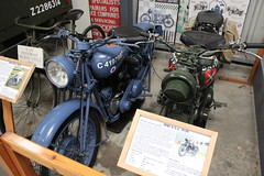 A PAIR OF BSA M20 MOTORBIKES (TruckerPat) Tags: shuttleworthcollection oldmotorbikes bsam20 bsamotorbikes