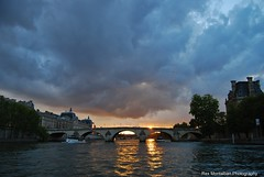 a sunset in paris (Rex Montalban Photography) Tags: sunset paris france europe rexmontalbanphotography