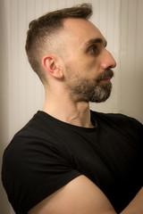 IMG_5383 (Zefrog) Tags: portrait selfportrait man self beard selfie zefrog