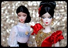 Silkstone Barbie Darya and Dulcissima (daniela.markovna) Tags: barbie silkstone