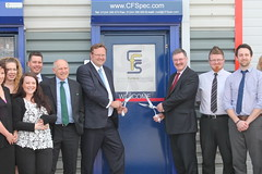 "Stephen Mosley  MP and Cllr Mike Jones open new CFS warehouse at Sealand Ind Estate • <a style=""font-size:0.8em;"" href=""http://www.flickr.com/photos/51035458@N07/14197419296/"" target=""_blank"">View on Flickr</a>"