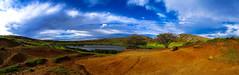 Inside Rano Raraku (MastaBaba) Tags: panorama easter island volcano rim easterisland rapanui nui rapa hangaroa ranoraraku hangoaroa 20140608 20140604 bf:blogitem=5516 bf:date=20140604 bf:blogitem=5625