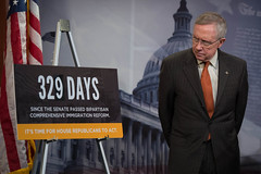 "Senate Democrats Calls On House Republicans To Act On Immigration Reform • <a style=""font-size:0.8em;"" href=""http://www.flickr.com/photos/32619231@N02/14222571456/"" target=""_blank"">View on Flickr</a>"