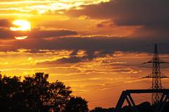 Sunset.... (akal_flickr) Tags: sunset sonnenuntergang andrea coucherdesoleil innamoramento commentbygwlap