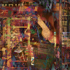 >>do you know where your boombox is?? (xandram) Tags: photoshop phone cabinet manipulation textures boombox