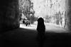 silhouette in big cave (gorbot.) Tags: blackandwhite silhouette rangefinder syracuse roberta siracusa orecchiodidionisio sicliy earofdionysius mmount leicam8 voigtlander28mmultronf19 vscofilm