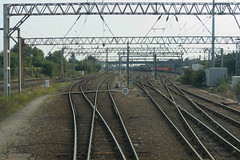 20130927 036 Wembley Yard. Taken On The North Arrivals Line. Wembley Carriage Recep. Sidings Left, Reception & Departure Lines Right (15038) Tags: track br trains depot railways britishrail wembley sidings