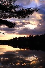 The Boundary Waters (A. Strakey) Tags: camping sunset wild camp lake minnesota woods woodlands sundown dusk hiking canoe wilderness canoeing portage mn sihlouette elymn superiornationalforest deepwoods wenonacanoe theboundarywaters canoeareawilderness voyagernorthoutfitters voyagernorth