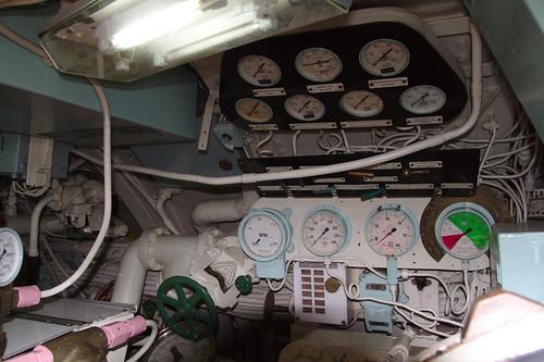 Instrumentos Museo Naval Submarino O'Brien