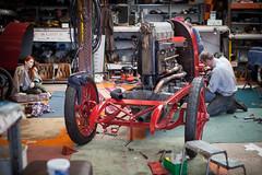 FIAT-5614 (Stefan Marjoram) Tags: classic car speed vintage fiat workshop record land beast turin rebuild s76 300hp