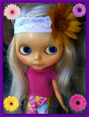 """Even though Waif didn't attend Blythefest she loves her """"Retro Princess"""" outfit!"""