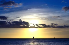 Waikiki (kotrp) Tags: sunset sailing waikiki oahu waikikisunset d7000