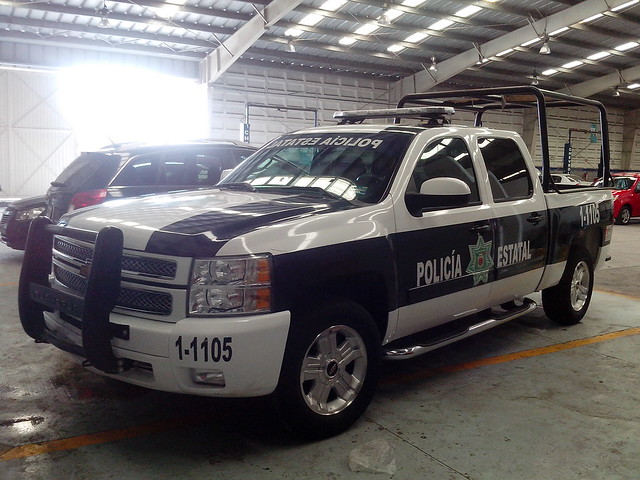 chevrolet mexico state police chevy silverado 1500 policia tlaxcala estatal