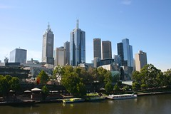 Melbourne (Brian Aslak) Tags: city urban skyline buildings river skyscrapers australia melbourne victoria yarra cbd