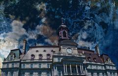 CITY HALL of MONTREAL (Bruno LaLibert) Tags: city texture architecture photoshop montreal fujifilm hdr hypothetical 2014 sharingart skeletalmess brunolalibert