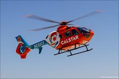 Eurocopter EC-135 P2+ (CalStar) (eugene.photo) Tags: california usa aircraft may salinas helicopter sns airlines eurocopter aircrafts ec135 2014 calstar n832cs